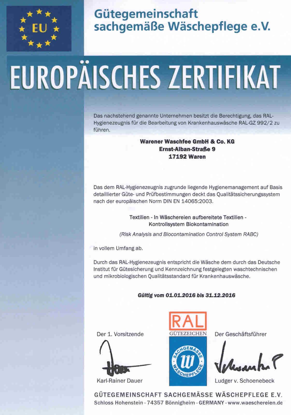 Europ_Zertifikat_GZ_992-2
