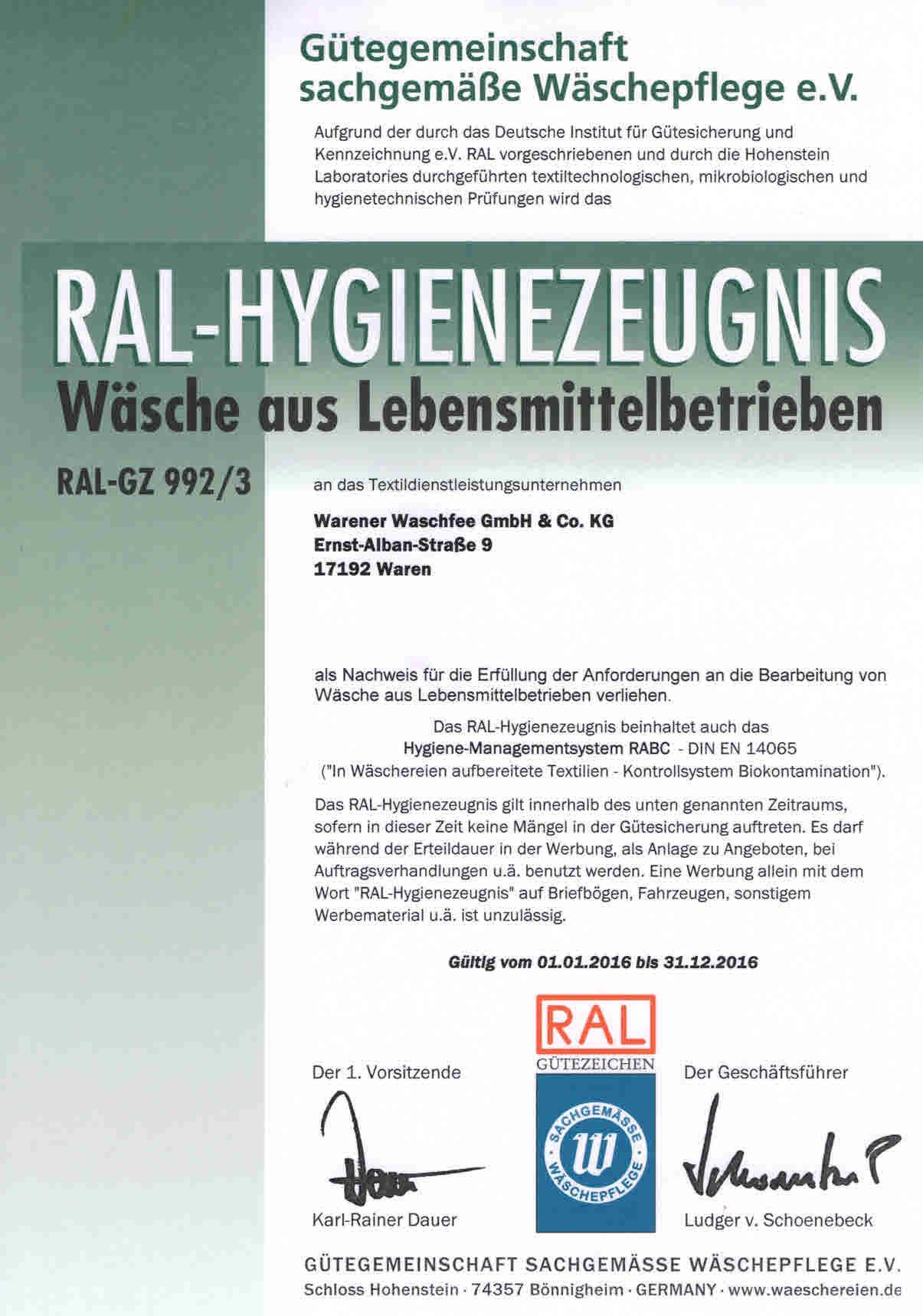RAL-GZ_992-3_Lebensmittelbetriebe