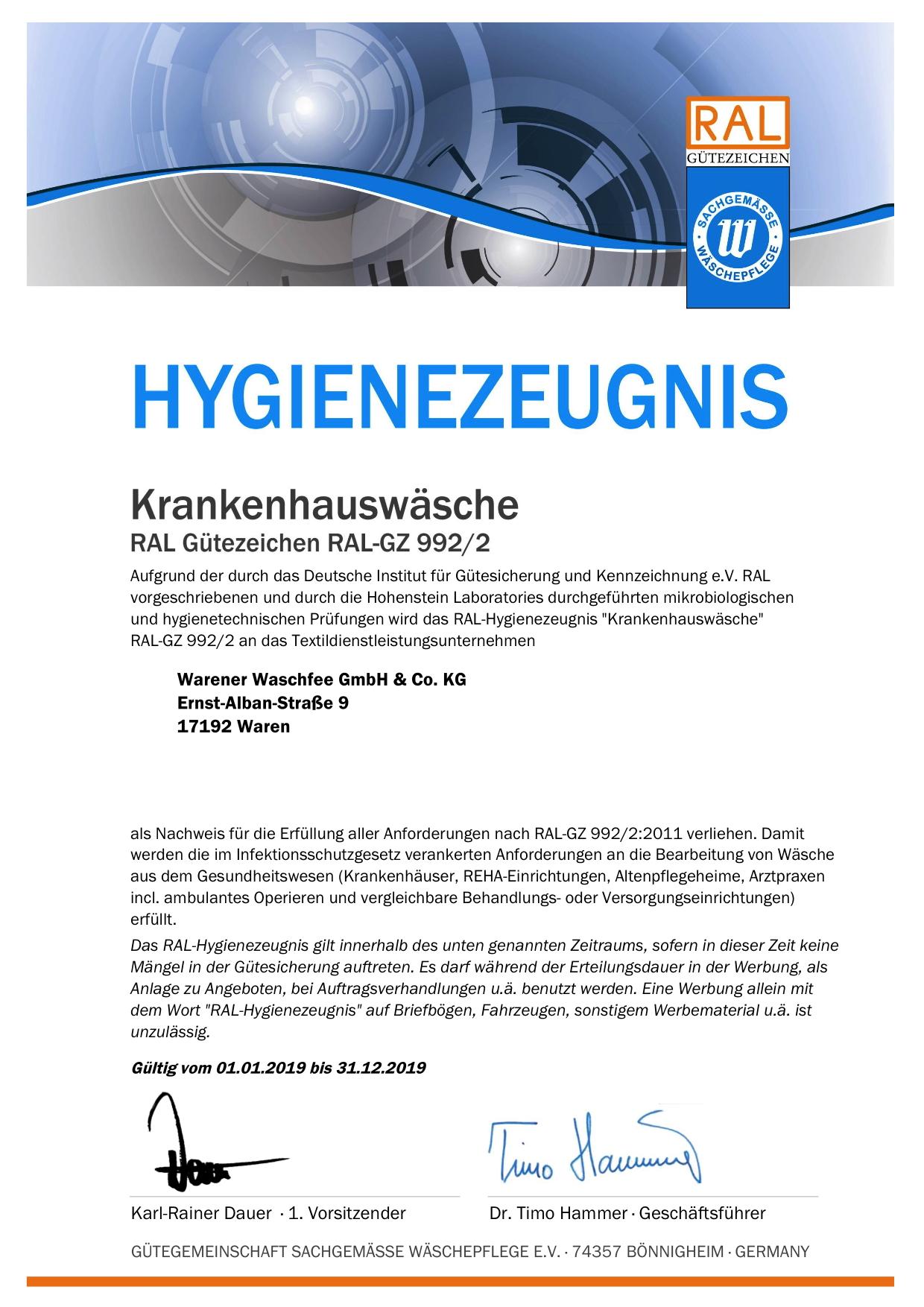 992-2 Hygienezeugnis_20054_2019