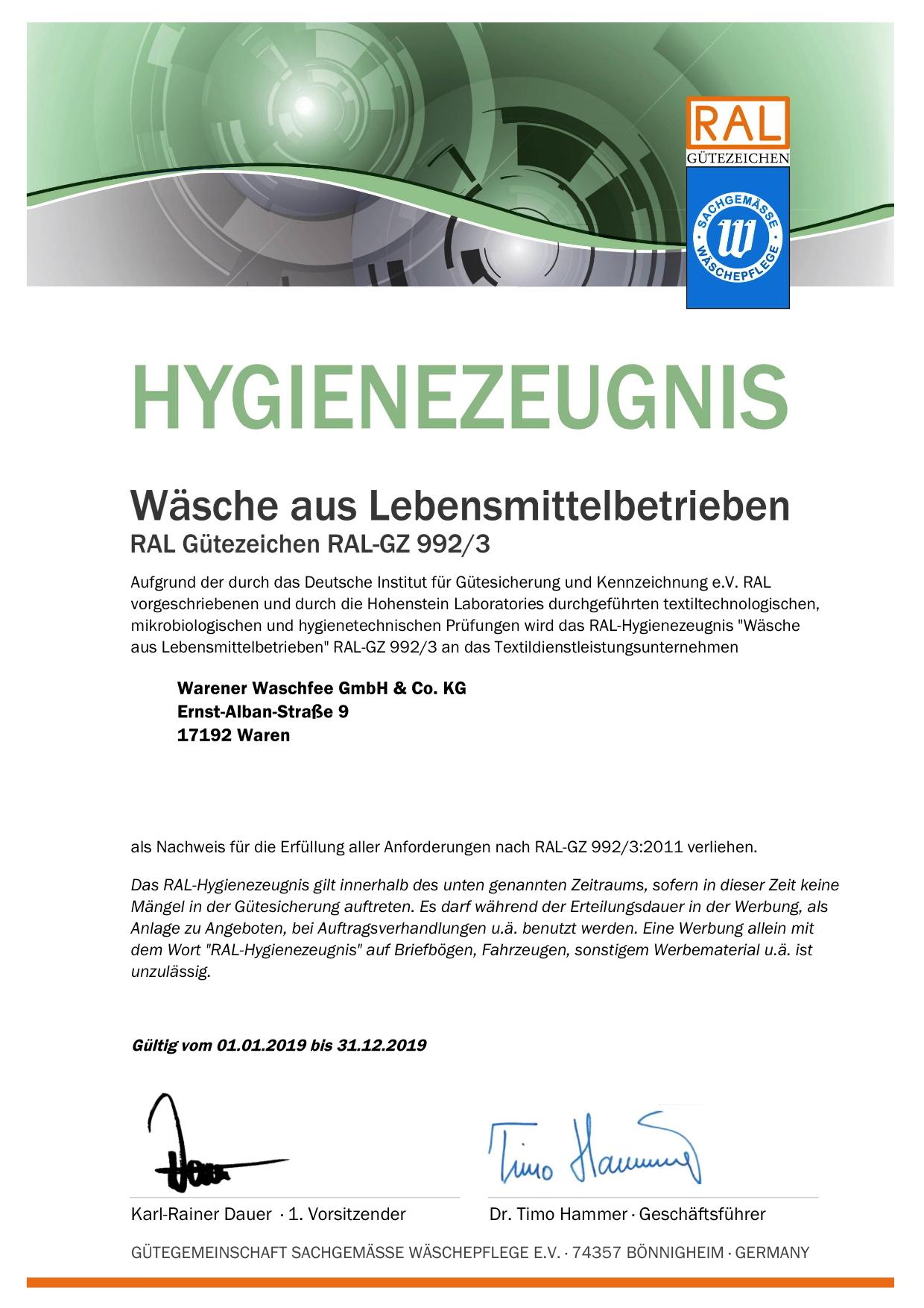 992-3 Hygienezeugnis_20054_2019
